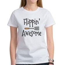 Flippin Awesome Cooking Tee
