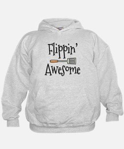 Flippin Awesome Cooking Hoodie