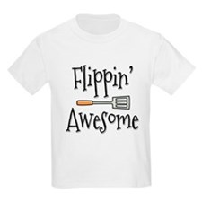 Flippin Awesome Cooking T-Shirt