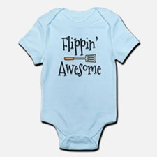 Flippin Awesome Cooking Infant Bodysuit