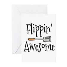 Flippin Awesome Cooking Greeting Cards (Pk of 20)