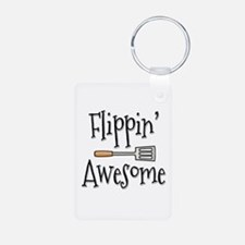Flippin Awesome Cooking Keychains