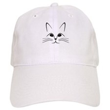 CAT FACE Baseball Baseball Cap