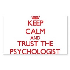 Keep Calm and Trust the Psychologist Decal