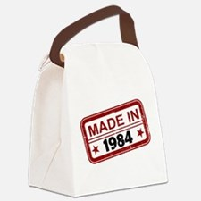 Stamped Made In 1984 Canvas Lunch Bag