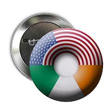 """USA - Ireland 2.25"""" Button (10 pack)"""