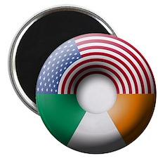 USA - Ireland Magnet