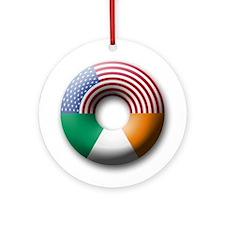 USA - Ireland Ornament (Round)
