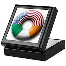 USA - Ireland Keepsake Box