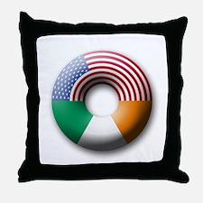 USA - Ireland Throw Pillow