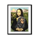 Mona's Cavalier (BT) Framed Panel Print
