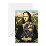 Mona's Cavalier (BT) Greeting Cards (Pk of 10)