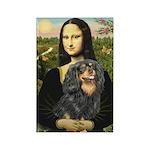 Mona's Cavalier (BT) Rectangle Magnet