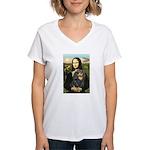 Mona's Cavalier (BT) Women's V-Neck T-Shirt