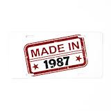 1987 License Plates