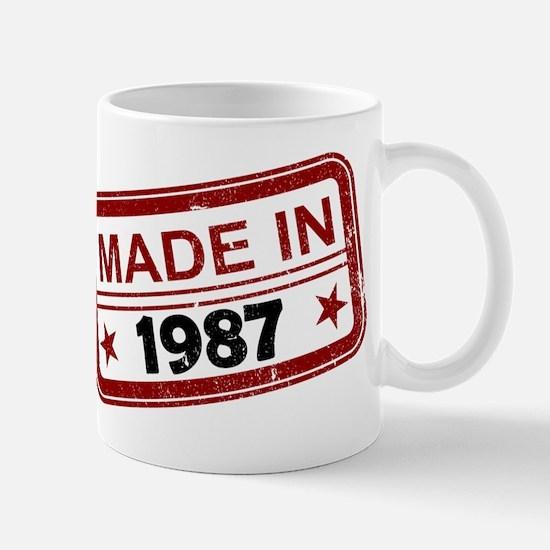 Stamped Made In 1987 Mug
