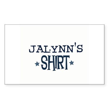 Jalynn Rectangle Sticker