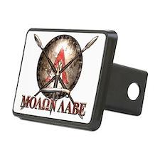 Molon Labe - Spartan Shield and Swords Hitch Cover