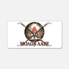Molon Labe - Spartan Shield and Swords Aluminum Li