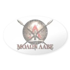 Molon Labe - Spartan Shield and Swords Decal