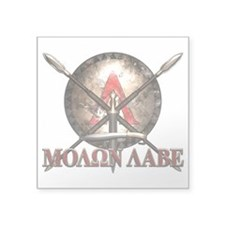 Molon Labe - Spartan Shield and Swords Sticker