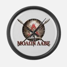 Molon Labe - Spartan Shield and Swords Large Wall