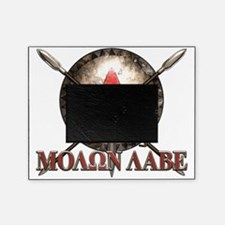 Molon Labe - Spartan Shield and Swords Picture Frame