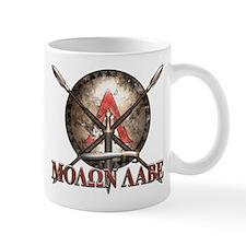 Molon Labe - Spartan Shield and Swords Mugs