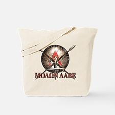 Molon Labe - Spartan Shield and Swords Tote Bag