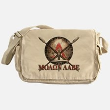 Molon Labe - Spartan Shield and Swords Messenger B