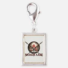 Molon Labe - Spartan Shield and Swords Charms