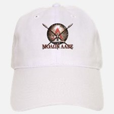 Molon Labe - Spartan Shield and Swords Baseball Ca