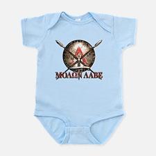 Molon Labe - Spartan Shield and Swords Body Suit