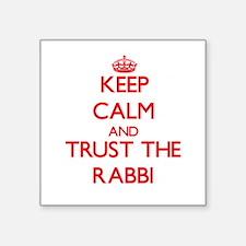 Keep Calm and Trust the Rabbi Sticker