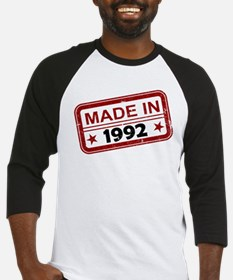 Stamped Made In 1992 Baseball Jersey