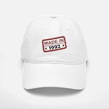 Stamped Made In 1992 Baseball Baseball Cap