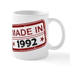 Stamped Made In 1992 Mug