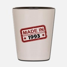 Stamped Made In 1993 Shot Glass