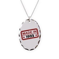 Stamped Made In 1993 Necklace