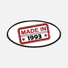Stamped Made In 1993 Patches