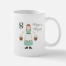 8 maiDS a-miLKiNG Mugs
