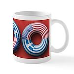USA - Greece Mug