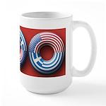 USA - Greece Large Mug