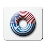 USA - Greece Mousepad
