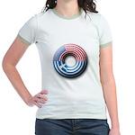 USA - Greece Jr. Ringer T-Shirt