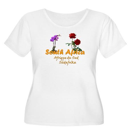 S. A. Goodies Women's Plus Size Scoop Neck T-Shirt