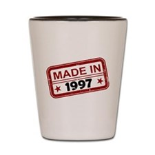 Stamped Made In 1997 Shot Glass