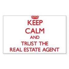 Keep Calm and Trust the Real Estate Agent Decal