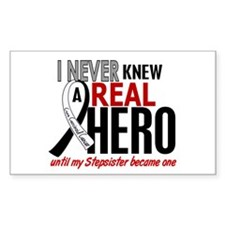 Carcinoid Cancer Real Hero 2 Decal
