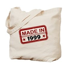 Stamped Made In 1999 Tote Bag